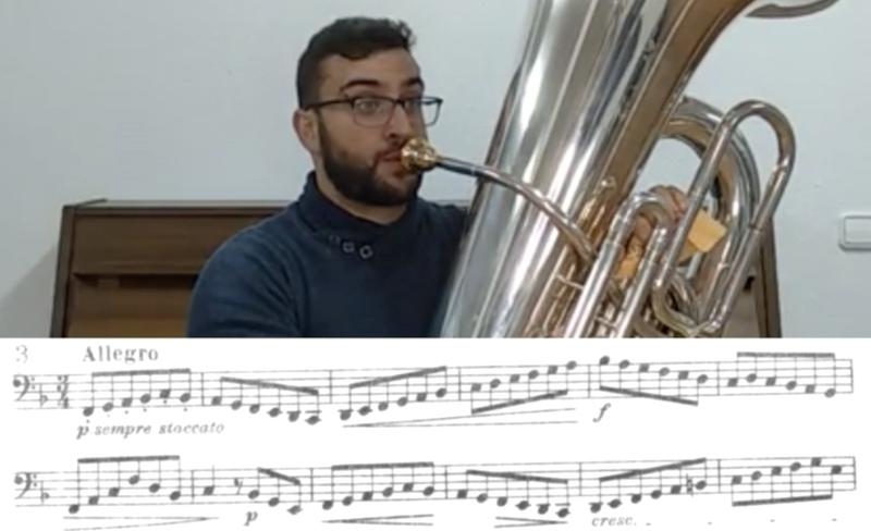 Lección 10 del curso de doble picado con Abel Fernández Seijas en cursos.davidtuba.com