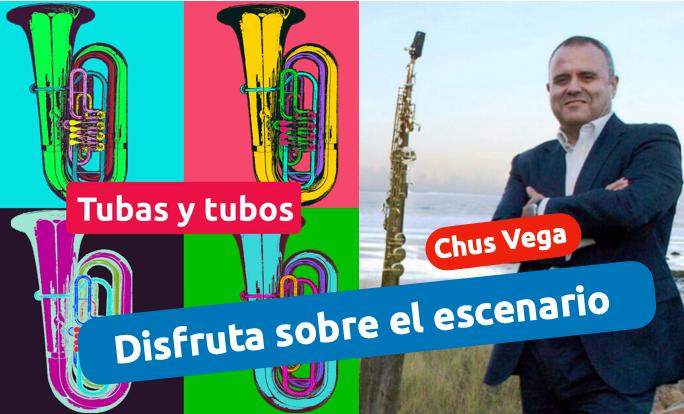 curso disfruta sobre el escenario con Chus Vega