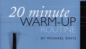20 Minute Warm-Up Routine