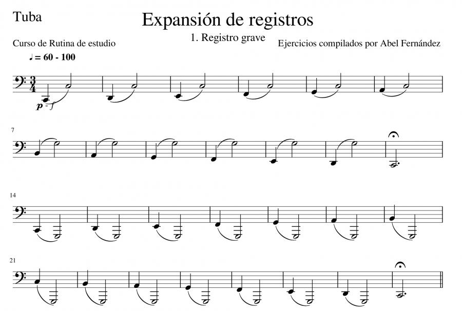 Expansión de registros
