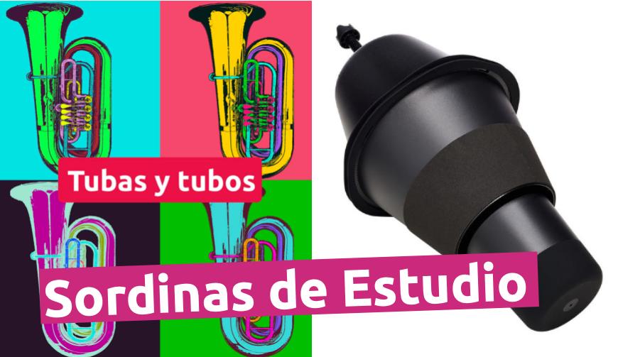 Sordinas de estudio para tuba