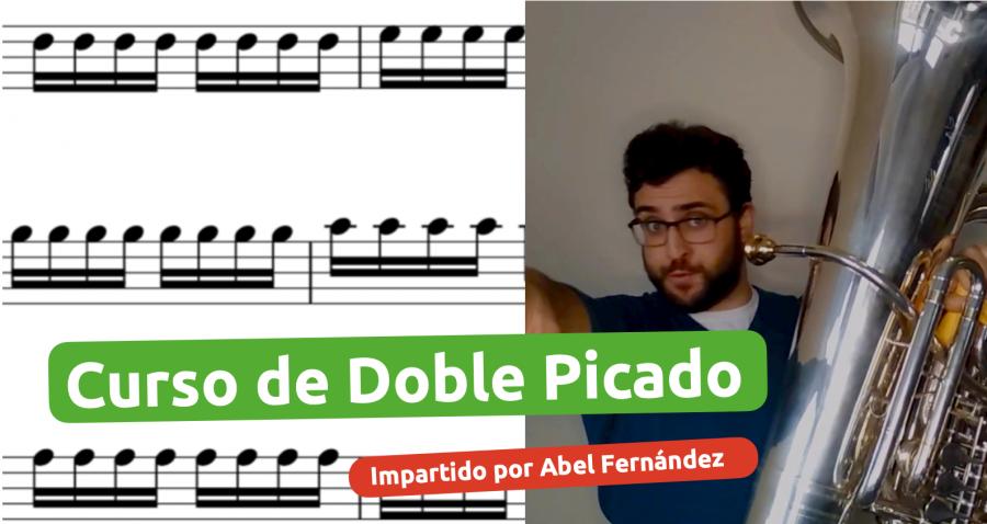 Curso de Doble picado para músicos de viento metal impartido por Abel Fernández