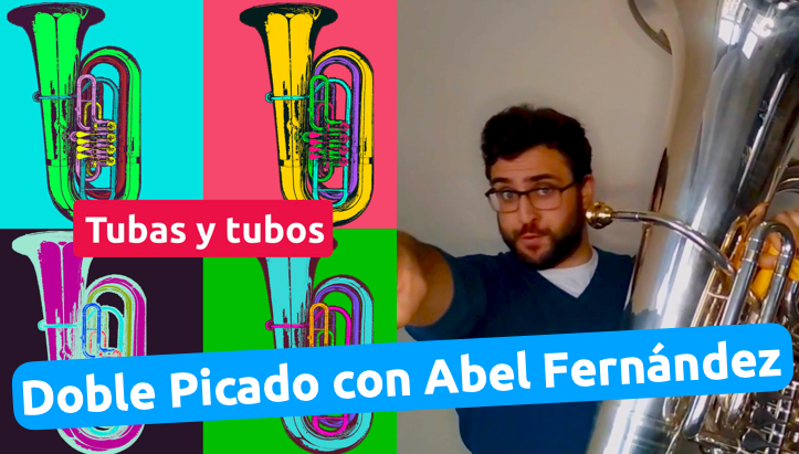 Curso de doble picado con Abel Fernández en cursos.davidtuba.com