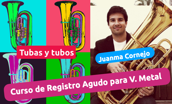 Curso de registro agudo para viento metal con Juanma Cornejo