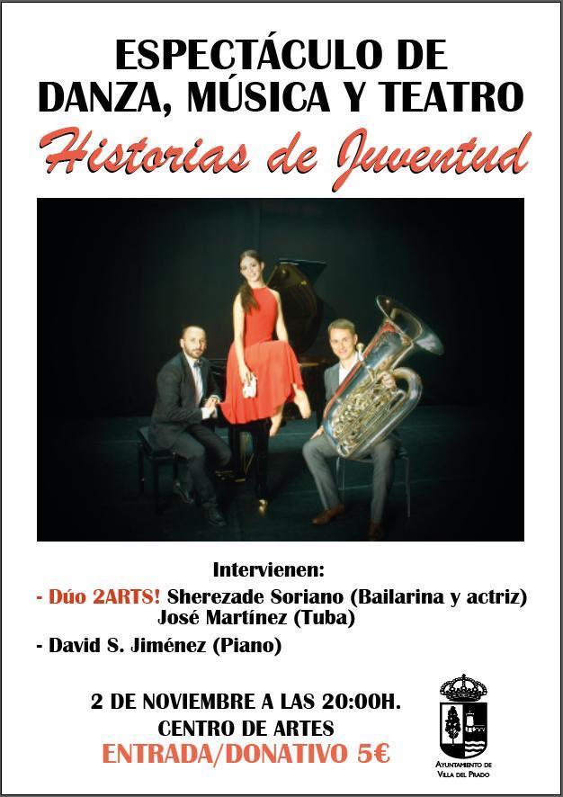 """Espectáculo de danza, música y teatro """"Historias de Juventud"""""""