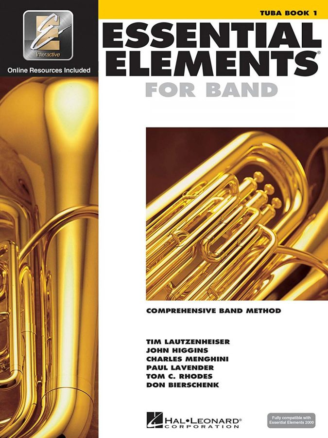 Essential Elements for banda tuba