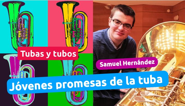 Jóvenes promesas de la tuba con Samuel Hernández