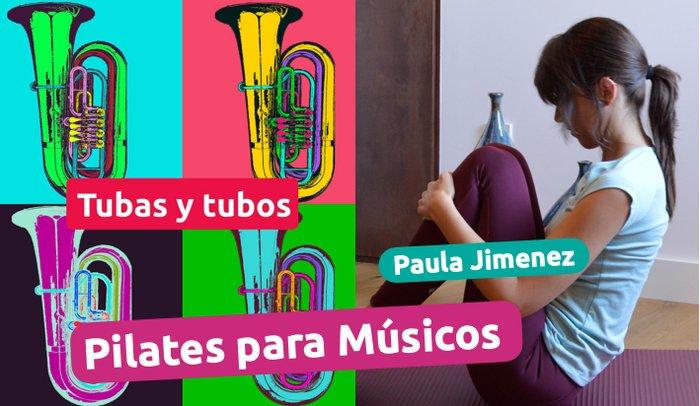 Pilates para músicos con Paula Jimenez